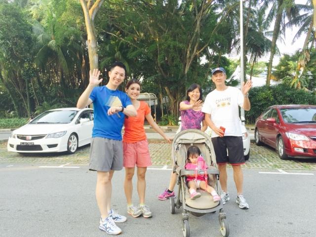Mt Faber run