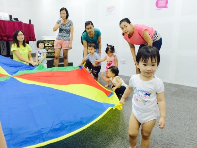 Parachute time at Medley!