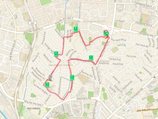 Run map