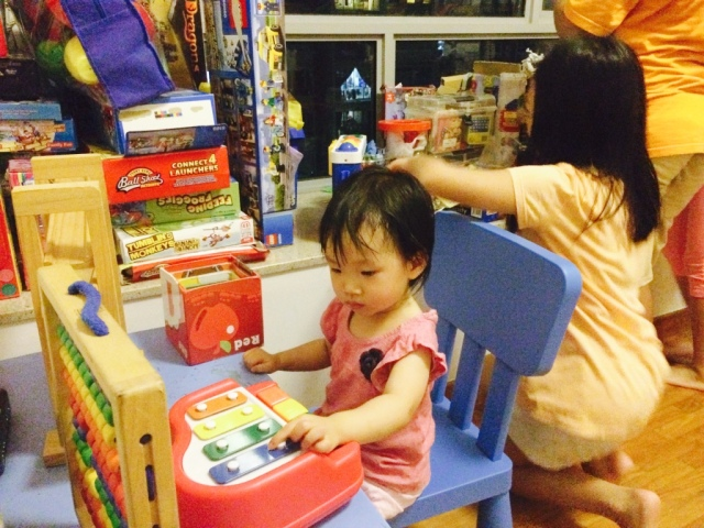 Playroom at PHN's place