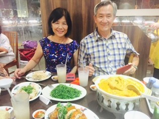 Mum and Dad at WNK
