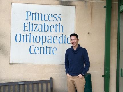 J at Princess Elizabeth Orthopaedic Centre
