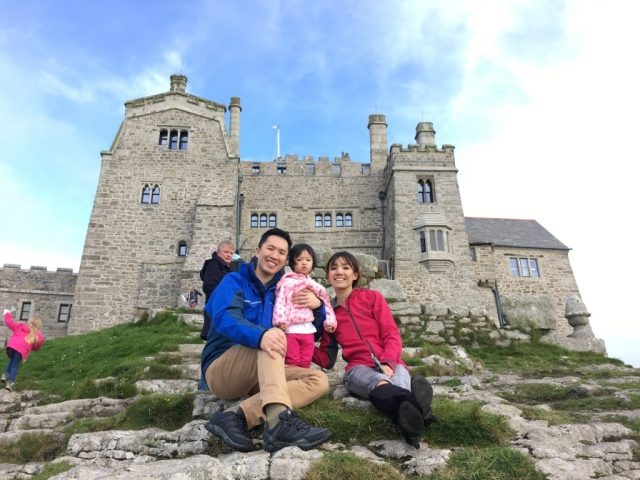 JRE on St Michael's Mount