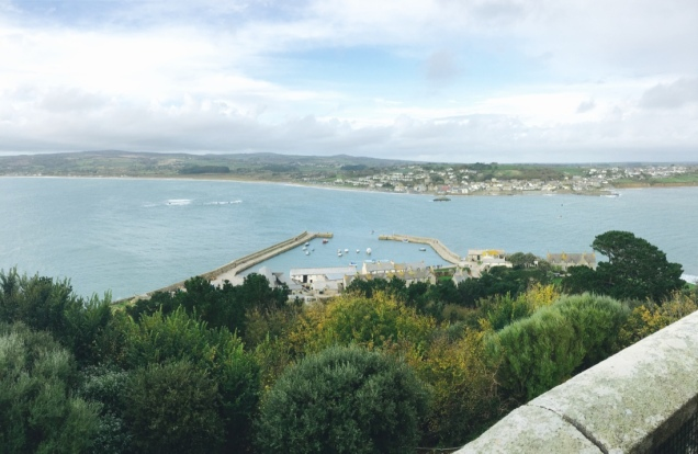View of Marazion city and the port.