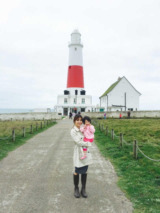 RE with the lighthouse