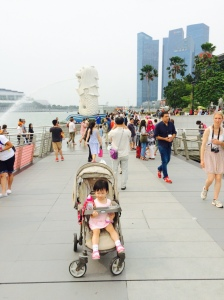 Little E and the Merlion