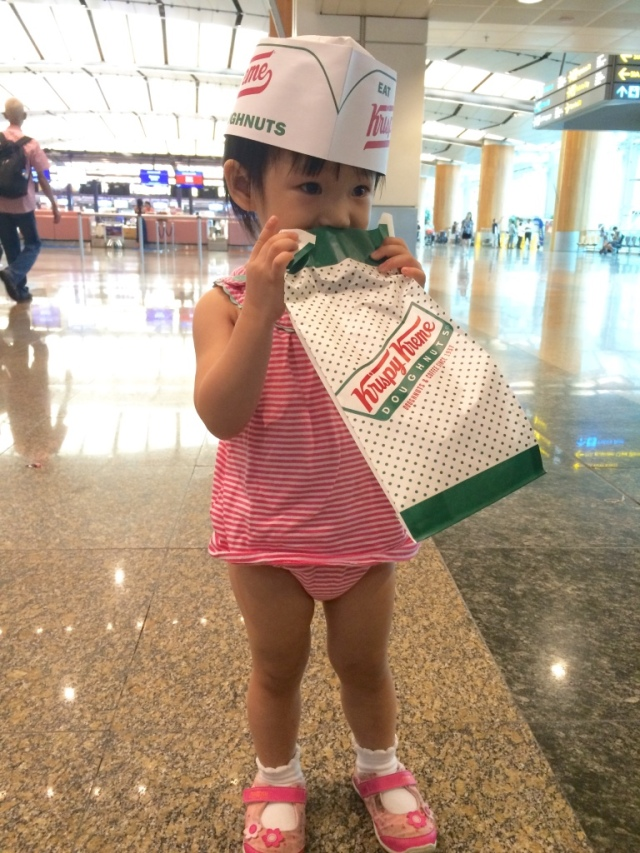 Krispy Kreme baby