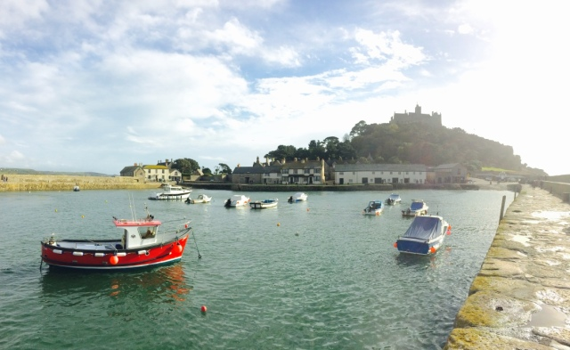 Dock at St Michael's Mount