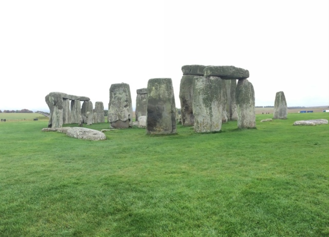 Another view of the Stonehenge up close