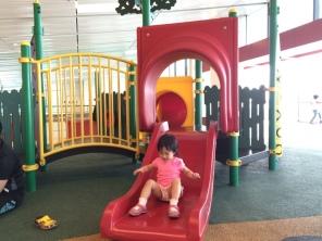 Airport playground