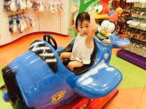 Kiddy rides in KidzWorld