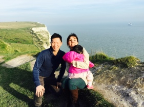 JRE at White Cliffs of Dover