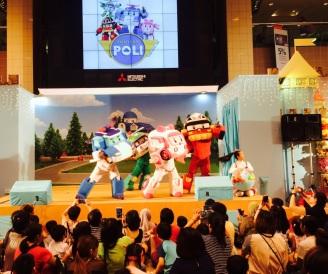 Robocar Poli at Takashimaya
