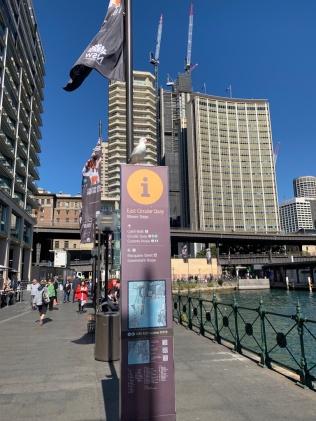 Circular Quay sign