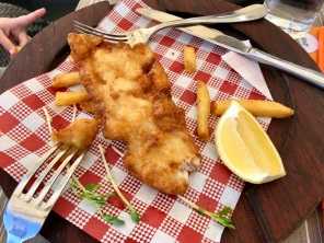 Fish n Chips at Seafood Grill