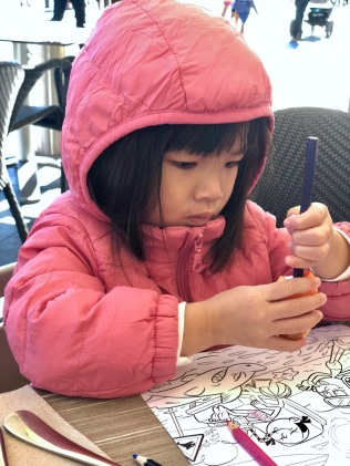 H colouring at Seafood Grill