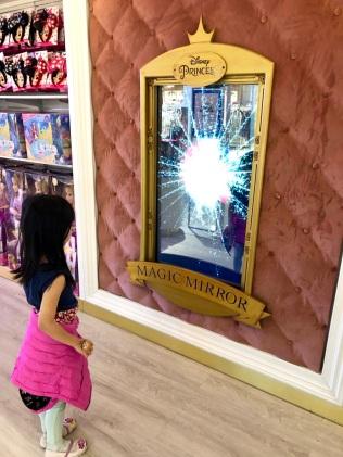 Magic mirror works!