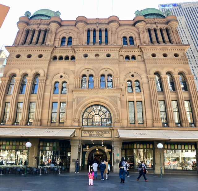 QVB in its glamour