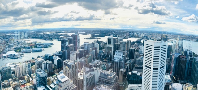 Pano view of Sydney 1