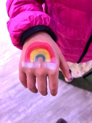 Rainbow for E